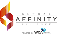 Affinity Logo - Pround Member of Global Affinity Alliance powered by WCA the world's largest multinational freight forwarders.